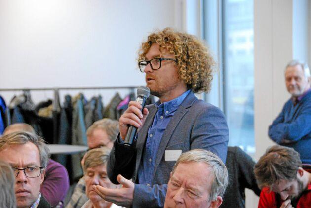 Att gårdsförsäljning tillåts är avgörande för svenska vinodlares framtid, enligt Victor Dahl på Kullahalvöns vingård.