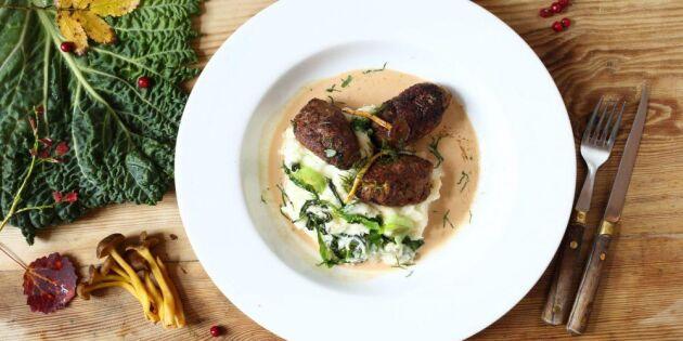 Potatismos med trattkantareller – bästa höstmiddagen