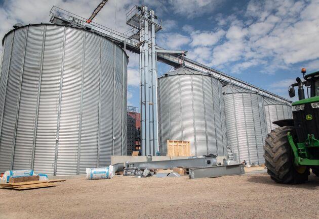Att arbeta i en silo kräver skyddsutrustning (arkivbild).