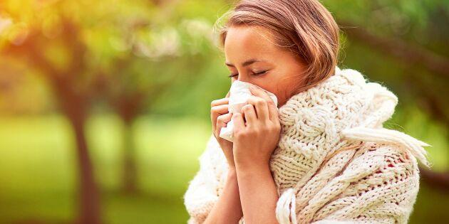 Pollenallergi eller förkylning? Lär dig skillnaden