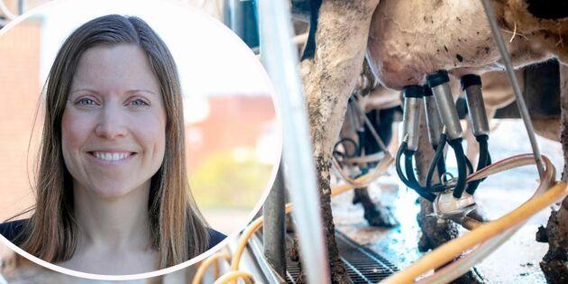 Mejeriimporten ökar – svenskt tappar mark