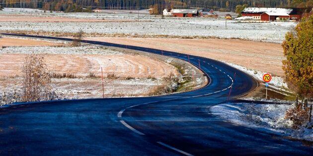 SVT:s granskning visar: Över 15 000 svenska vägkurvor är felutformade