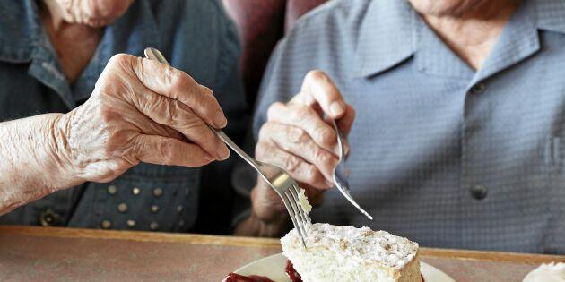 Många äldre lider av undernäring – så ökar man aptiten!