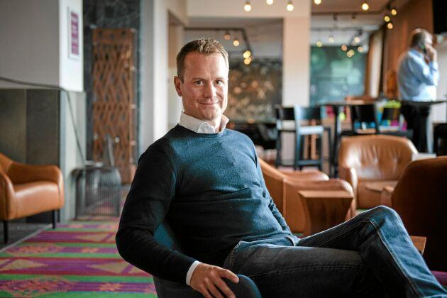 """Daniel Rosenfors, vd för Kiruna Lapland, ser stora möjligheter med en utveckling av Kirunas så kallade """"tech visits""""."""