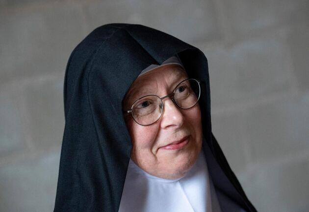 Moder Christa, abbedissa på Mariavalls kloster, har engagerat sig emot det brittiska bolagets Scandivanadiums planer på provborrningar på Österlen. Arkivbild.
