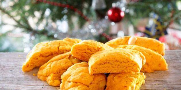 Baka julens sprödaste saffransskorpor – himmelskt goda!