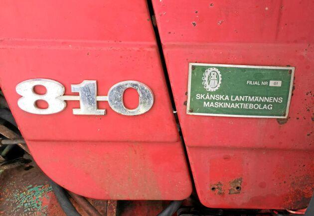 Som ny gick 810:an i Skåne. Det visar också rapportkortet som Emil Elsius beställt från arkivet i Eskilstuna. Ägarhistoriken är klarlagd.