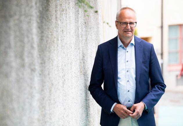 LRF:s förbundsordförande Palle Borgström. Arkivbild.