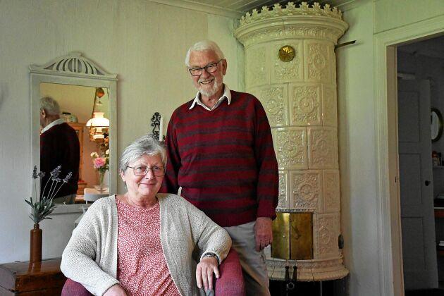 Inge och Rainer Richter kommer till Naum från Tyskland varje år för att bo på Ribbingtorp Säteri.
