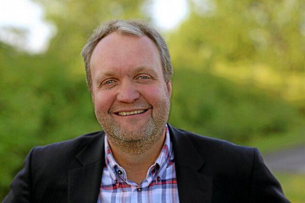 Mikael Jeppsson, chef på spannmålsenheten Lantmännen Lantbruk.