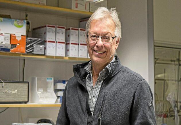 Olle Olssons forskning lade grunden till bioteknikföretaget Crop Tailor.