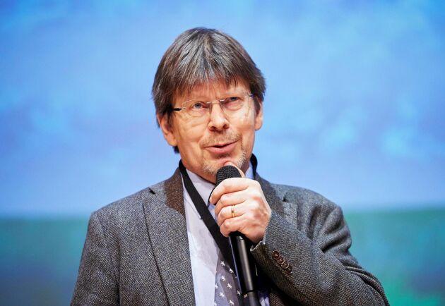 Tomas Lundmark efterlyser volymmål för produktionen i skogen.