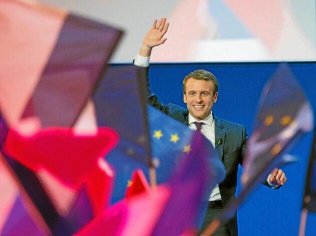 Den franske presidenten Emmanuel Macron slår hårt vakt om Cap-budgeten. Rör inte jordbruksstöden var också det franska budskapet vid tisdagens rådsmöte.