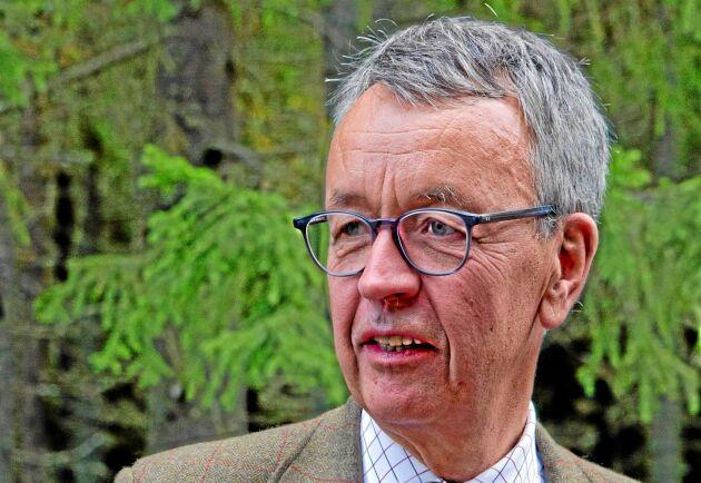 """""""Det har blivit rena spekulations-VM runt Bergvik"""", säger Per-Olof Wedin, Sveaskogs VD."""