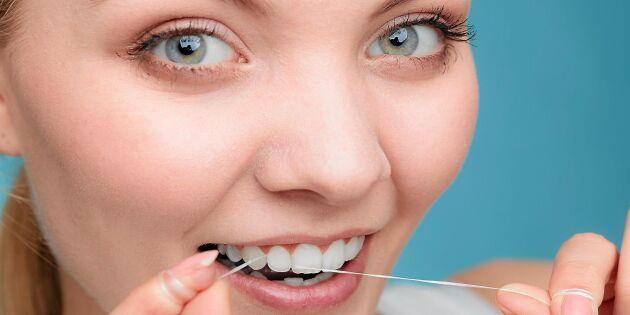 Ny studie: Tandtråd kan skydda mot cancer