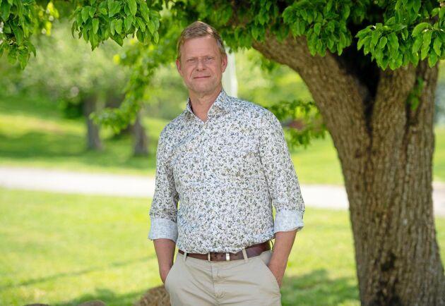 Patrik Jönsson, stämmofullmäktige och styrelseledamot i LRF Jönköping.