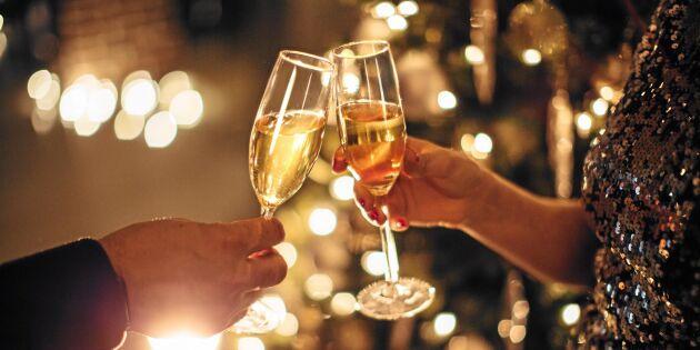Vinexperten tipsar: Här är bästa bubblet till nyår!