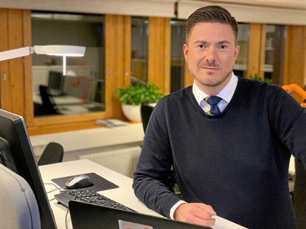 Marcus Årskog, pressekreterare vid MSB.