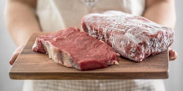 5 vanliga missar när du tinar kött