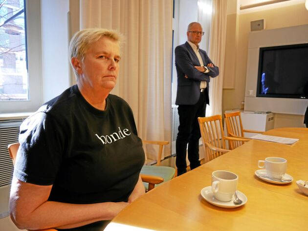 Tina Rudolphson och Palle Borgström.