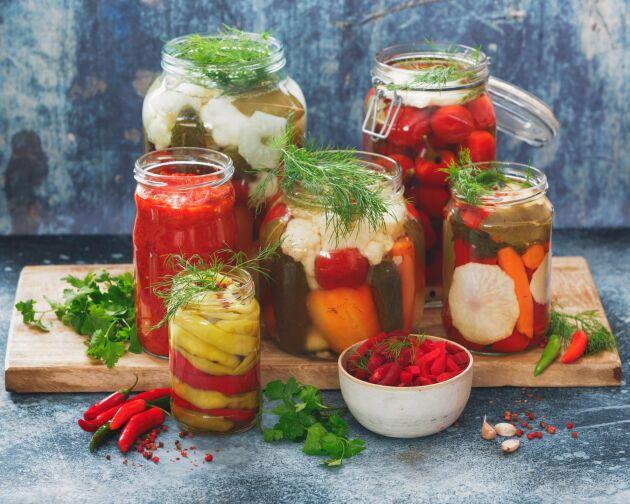 Fermentering ökar råvarans hållbarhet.