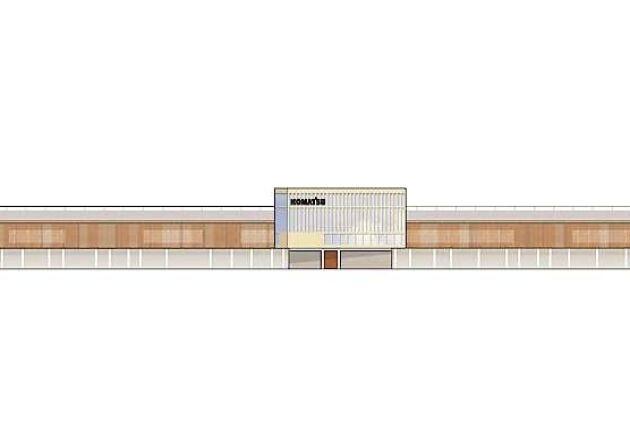 De nya lokalerna kommer att bli på 40 000 kvadratmeter.