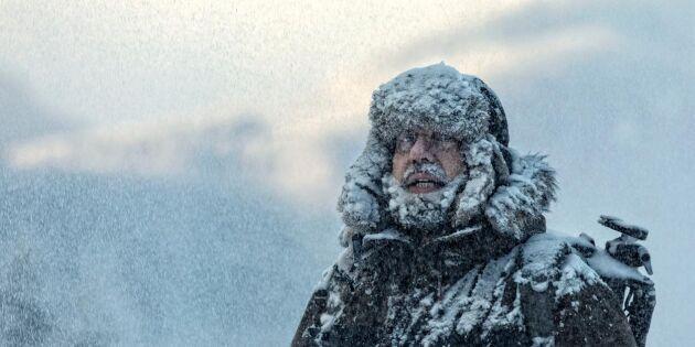 SMHI varnar: Rusta dig för isvindar idag