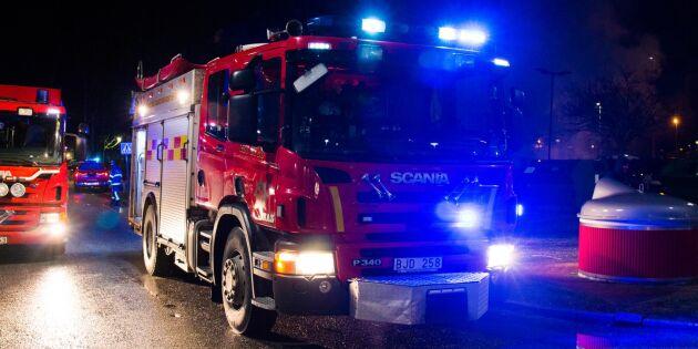 14000 fjäderfän brann inne när hönseri eldhärjades
