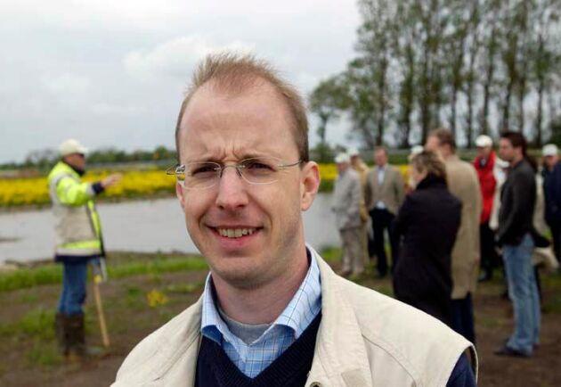 Markus Hoffman, vatten- och näringexpert på LRF.