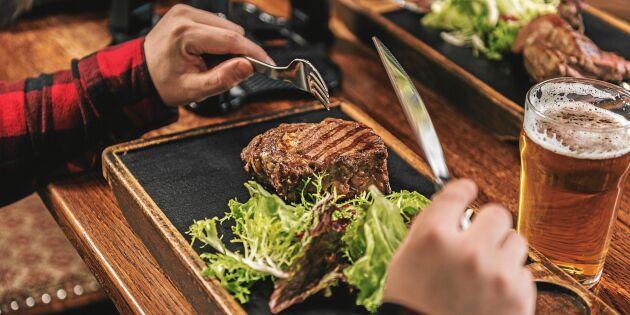 Matfusket: Restauranger ljuger om svenskt kött