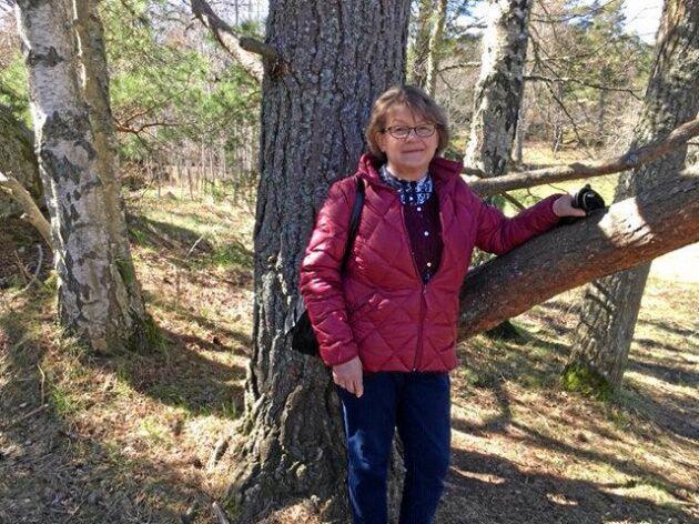 Aina Spets hoppas att många kvinnor i skogssektorn kommer till mötet i Jönköping.