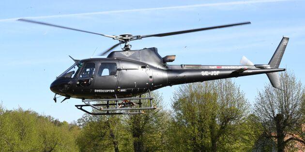 Svenska helikoptrar ska släcka EU-bränder