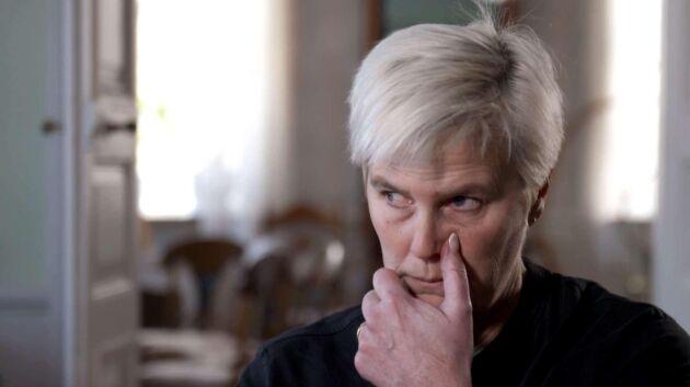 """Tina Rudolphson har fått förtäckta hot om mordbrand. """"Då blev jag riktigt rädd. Det är hemskt."""""""
