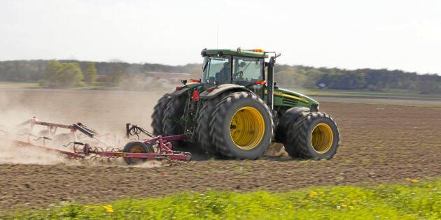 Färre efterlysningar av traktorer förra året
