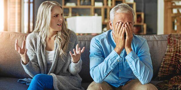 8 tecken på att det kan vara kris i äktenskapet