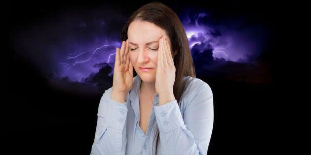 4 bevis för att vädret faktiskt påverkar din hälsa!