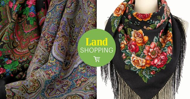 Rosor – Den mest romantiska blomman vill vi bära. Även om tillverkningen av sjalarna har moderniserats så utförs fortfarande de viktigaste delarna av produktionen för hand.