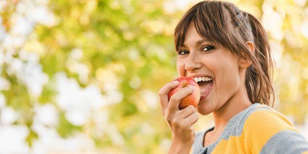 Ny studie: Ämne i äpplen kan sakta ned åldrandet