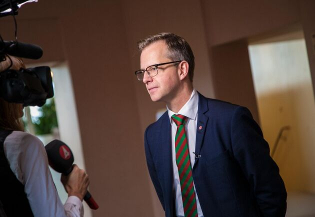 Mikael Damberg, inrikesminister (S). Arkivbild.