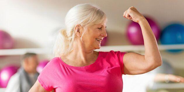 Lindra klimakteriebesvär – med styrketräning