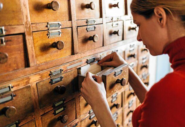Så här söker du i arkiven för att ta reda på allt om ditt hus.