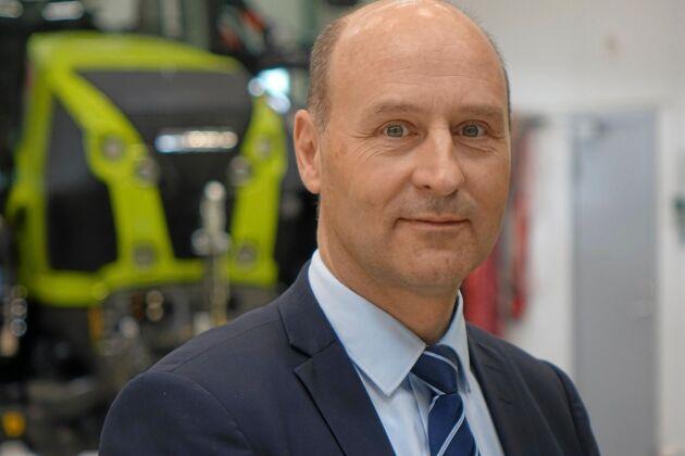 Jens Skifter, chef för Danish Agros maskindivision.