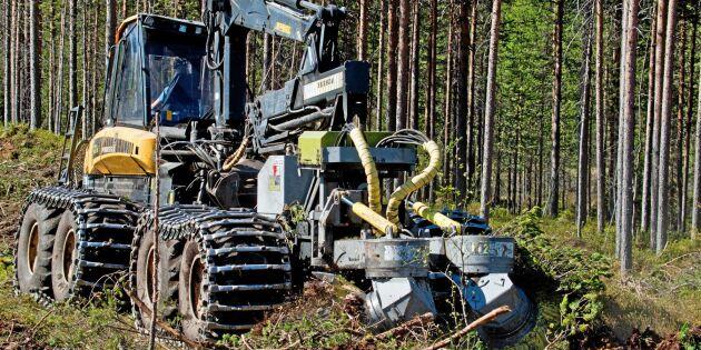 Brist på maskinförare skapar flaskhalsar i skogen