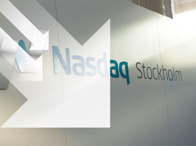 Nasdaq OMX i Stockholm.