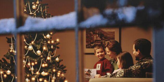 Hjälp, vem ska vi fira jul med i år? Expertens bästa tips!