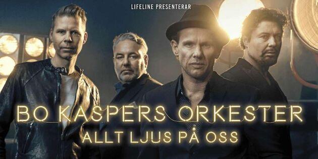 Tävling avslutad – här är vinnarna av biljetter till Bo Kaspers Orkester på Cirkus