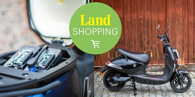 Billig i drift och rolig att köra – fem fördelar med elmoped
