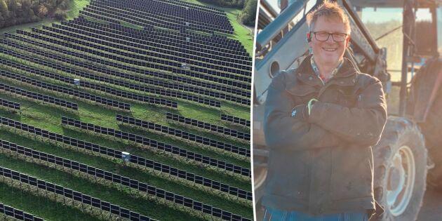 Nytt system kombinerar solel med odling
