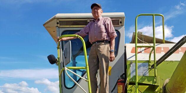 93-årig veteran tröskar vidare