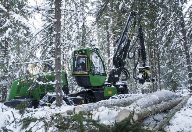 Med digitala data över skogen kan både gallring och uppföljning förbättras.